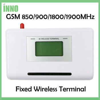 GSM 850/900/1800/1900MHZ Fixed wireless terminal with LCD display, support alarm system, PABX, clear voice,stable signal 1