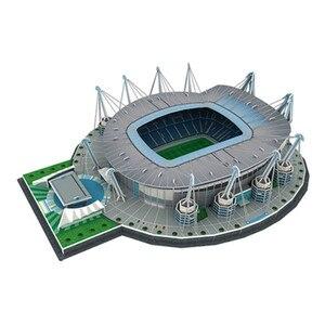 Image 5 - 2020 חדש כדורגל אצטדיון 3D פאזל מקסיקני ספרד משחקים עולם אדריכלות דגם התאסף בניין צעצועים לילדים