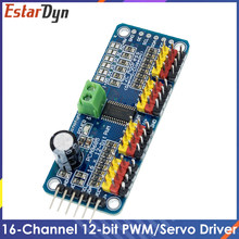 16 Channel 12-bit PWM/Servo Driver-I2C Interface PCA9685 Module Raspberry pi Shield Module servo shield