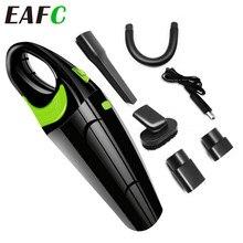 Aspirador portátil de mano para coche inalámbrico, 120W, USB, inalámbrico, uso en seco/mojado, recargable, para el hogar y el coche