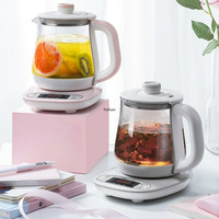 Health Kettle 0.8L Mini Capacity Office Full Automatic Small Boiling Tea Kettle Electric Kettle Kitchen Appliances