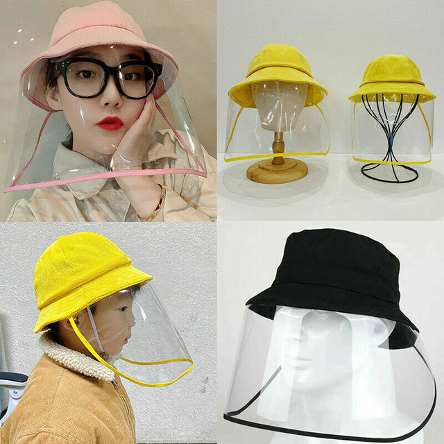 Anti Flu Protection Hat +Mask Protective Anti-spitting Anti Dust Hat Face Cover Outdoor Fisherman for Kids Adult Windproof Cap