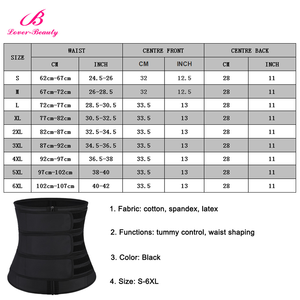 S-6XL Plus Size Women Latex Waist Trainer in Achimota Ghana 6