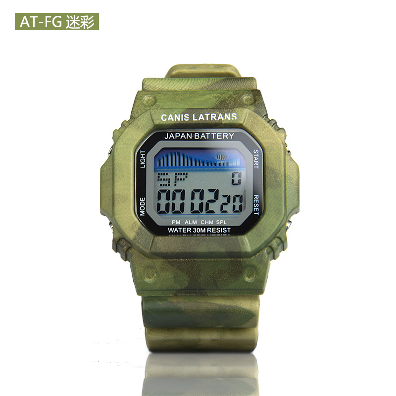 PPT AT-FG CP HL Color Tactical Digital Watch For Outdoor Hunting Paintball Gs44-0001