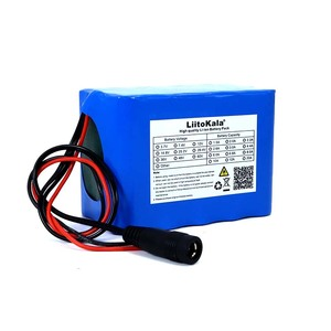 Image 2 - Liitokala Protection 12V 10ah 18650 lithium Rechargeable battery 12v 10000mAh for Monitor emergency lights +12.6v 3A Charger