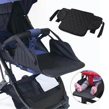 35x30cm Stroller Footrest for Baby Stroller Accessories Baby Footrest Throne Infant Carriages Feet Extension Pram Footboard