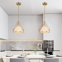 Современные подвесные светильники с покрытием из розового золота