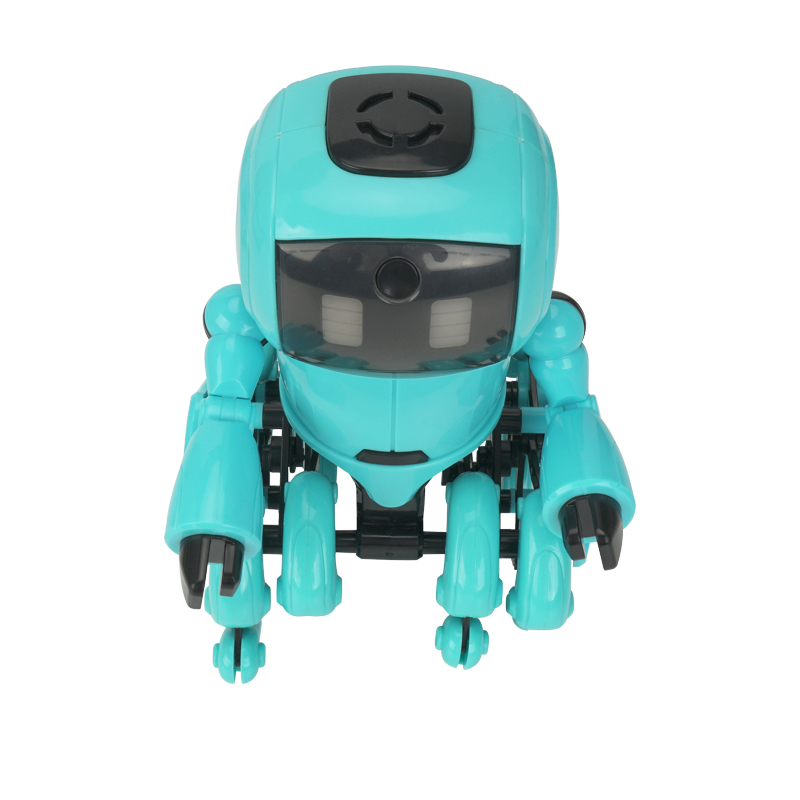 RC Robot Toys Radio Controlled Robot Gesture Control Educational Toy with Sound Kids Birthday Gifts Toys for Children