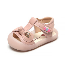 Hot Sale New Leather Baby Shoes Flower Girls Soft Sole Boys