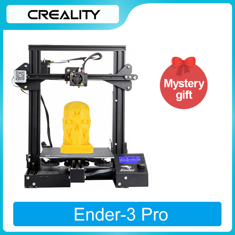 CREALITY 3D Printer Printing Magnetic Ender-3 Pro/Ender-3/Ender-3 V2 silent TMC2208 Stepper New UI&4.3 Inch Color Lcd 3d printer