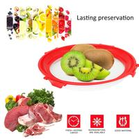 Food Fresh Keep Lid Sealing Cover Refrigerator Plate Cover Kitchen Instant Vacuum Sealer Crisper Food Sealer 1.14