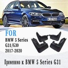 Paraspruzzi Per BMW 5 Serie G30 G31 Parafango Paraspruzzi Mud Flap Guardia Parafango Parafanghi di Accessori Per Auto Auto styline 2017 2020 anno