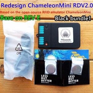 Image 2 - Piswords עיצוב מחדש ChameleonMini REV E G ChameleonTiny צדדי כרטיסים חכמים ללא מגע אמולטור תואם כדי NFC זיקית מיני