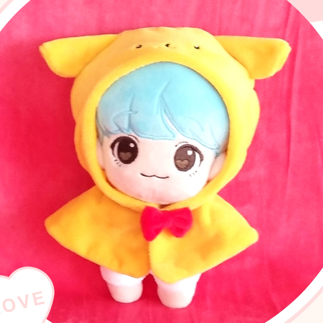 Kpop MONSTA X Lee Min Hyuk Minhyuk Plush Stuffed Doll Gift Toy Be