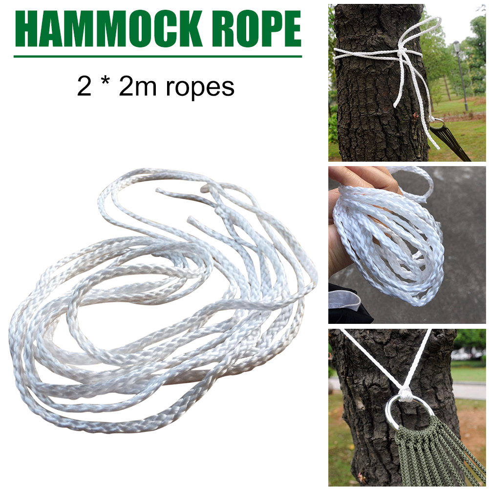 Tied-Rope Chair Bed Hanging-Swing Garden-Tree-Strap 2m Hammock Laying-Accessories Home
