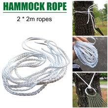 Tied-Rope Chair Hammock Bed Garden-Tree-Strap Laying-Accessories Hanging-Swing Park 2m