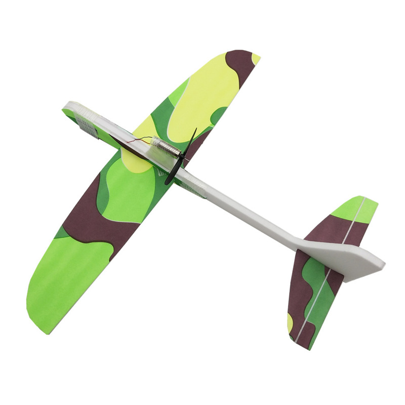 Condensateur d'avion électrique, lancement à la main, planeur, mousse à inertie EVA, jouet modèle d'avion, jouet d'extérieur, nouveauté 2