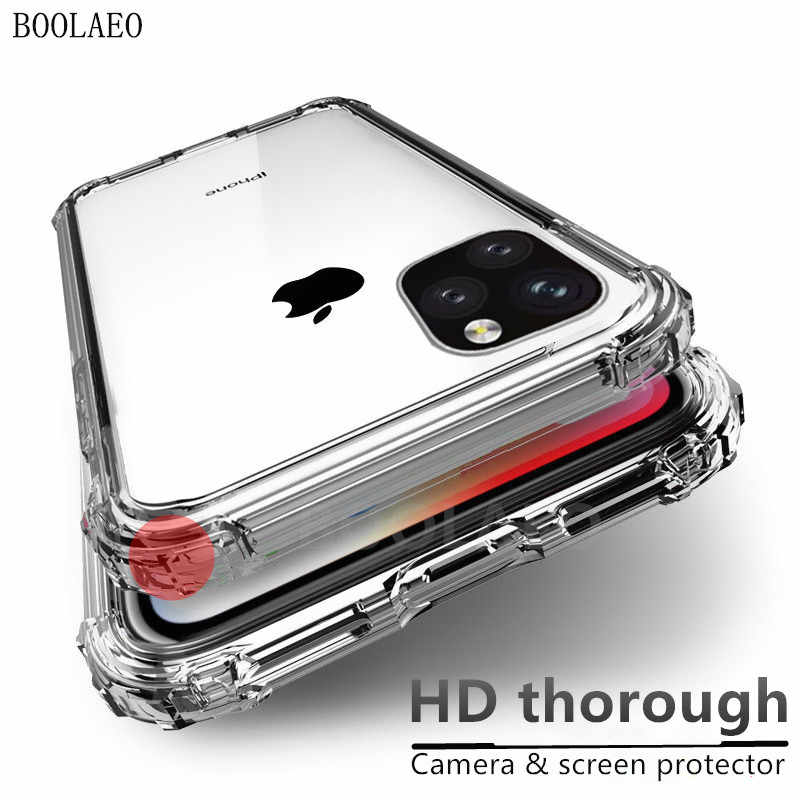 Fashion Clear Shockproof Case For iPhone 11 pro X XS Max XR Luxury Silicone Soft protection iPhone 8 7 6S Plus Phone case Cover