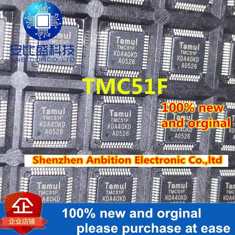 10pcs 100% New And Orginal  TMC51F TMC51F-G QFP48  In Stock