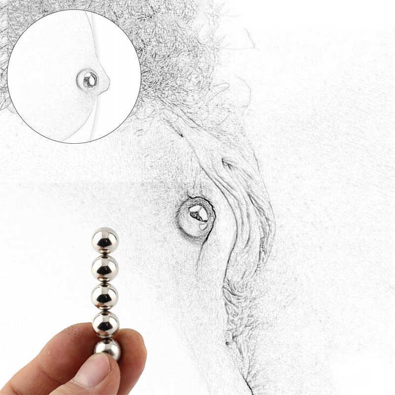 2/4/6 pièces orbes magnétiques Ultra puissantes, pinces à mamelon orbes magnétiques fortes Clitoris BDSM Bondage Sex Toys pour les Couples de femmes hommes
