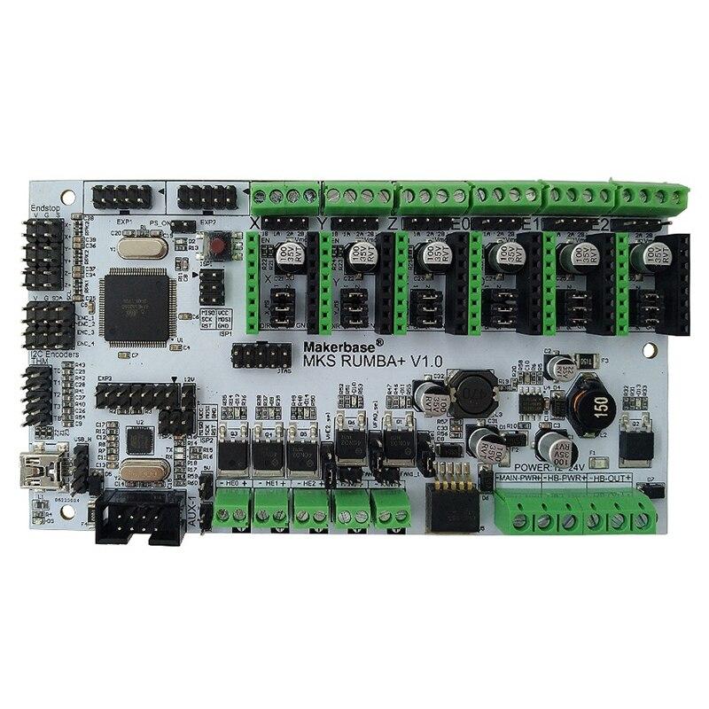 Makerbase MKS Rumba todo en uno placa base integrada placa base controlador inteligente 2560-R3 procesador Rumba-Board Compatible MKS TF