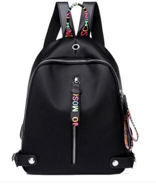 Sac à dos en Nylon femme nouvelle mode sauvage Oxford tissu grande capacité étudiant loisirs voyage sacs à dos