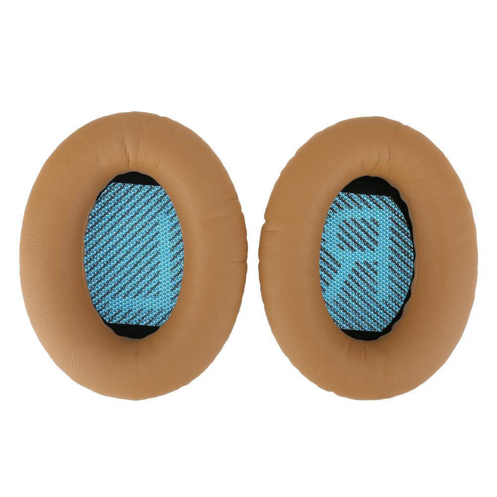 Replacement Ear Pads Soft Leather Cushions for Bose QuietComfort QC35 Headphones image