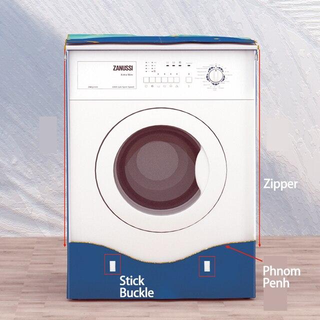 SRYSJS couvercle de Machine à laver automatique | Protection solaire épaisse, Anti-âge, étanche, pratique pour laver le linge