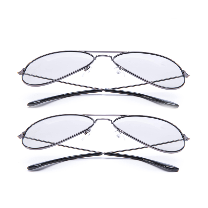 2 pack Hard Plastic/Metal Circular Passive <font><b>3D</b></font> Glasses for LG,<font><b>Samsung</b></font>&All Passive <font><b>TVs</b></font> for Watching Real D <font><b>3D</b></font> Movies image