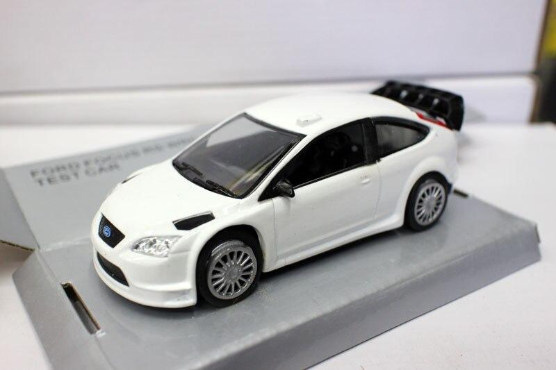 1/43 Simulation Alloy Car Model Focus WRC Ford Focus Model Decoration Toy