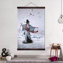 Японское Искусство Современная Настенная Печать поп арт Картина