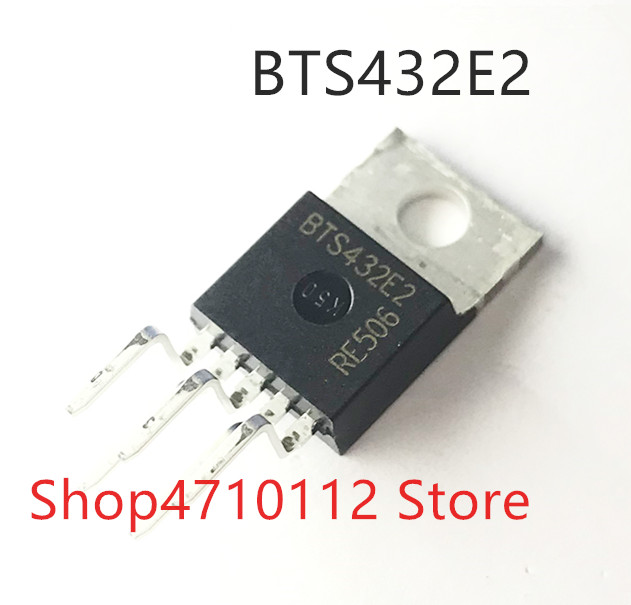 Free Shipping NEW 10PCS/LOT BTS432E2  BTS432 TO220-5
