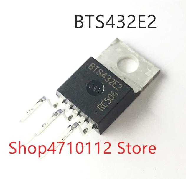 Free Shipping NEW 10PCS/LOT BTS432E2  BTS432 TO220-5