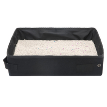 Tray Litter-Box Cats Cat-Bedpans Foldable Travel for Camping Home-E2s Waterproof