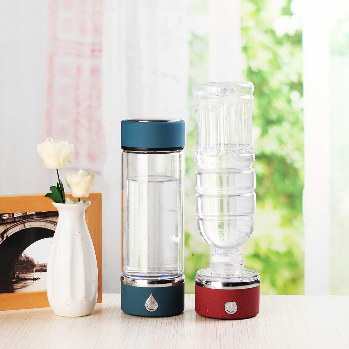 420ml For -Rich Water Cup Ionizer Maker/Generator Two Modes Super Antioxidants ORP For Bottle Healthy Cup