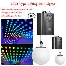 10 шт/лот кинетический свет 3d подъемный шар высота 0 м 5 полноцветный