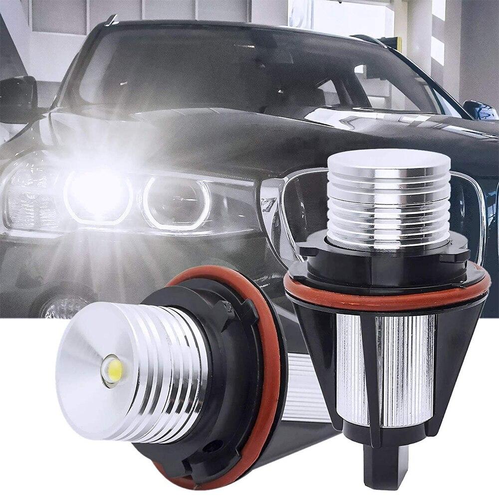Для BMW E39 E53 E60 E61 E63 E64 E65 E66 E87 525i 530i xi 545i M5 автомобилей ошибок светодиодный Ангельские глазки габаритные огни аксессуары для ламп