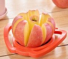 Handle Apple Fruit Cutter Plastic Apple Fruit Cutter Stainless Steel Fruit Cutter apple aoki fruit