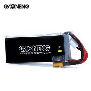 Image 2 - 2 шт. Gaoneng 11,4 в 1100 мАч 50C 3S HV 50C/100C 4,35 в литий полимерная батарея XT30 T XT60 разъем для радиоуправляемого FPV гоночного дрона