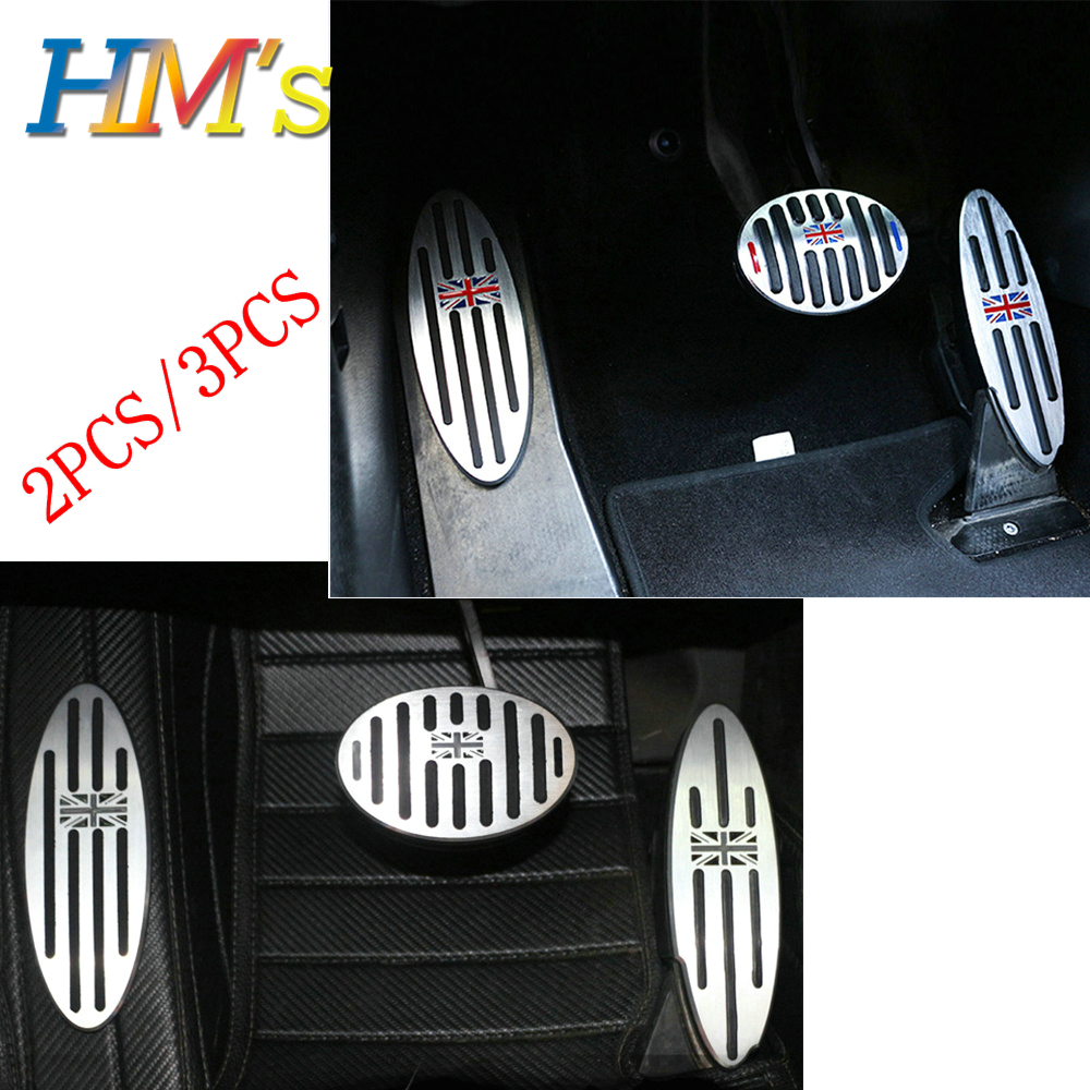 For MINI Cooper R50 R52 R53 R55 R56 R57 R58 R59 R60 R61 F54 F55 F56 F57 F60 Countryman Clubman Footrest Pedal Sticker Cover