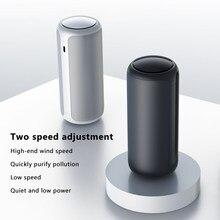 Przenośny oczyszczacz powietrza filtr HEPA oczyszczacz powietrza USB ładowanie filtr powietrza Anion jonizator Generator jonów ujemnych rozpylacz zapachów