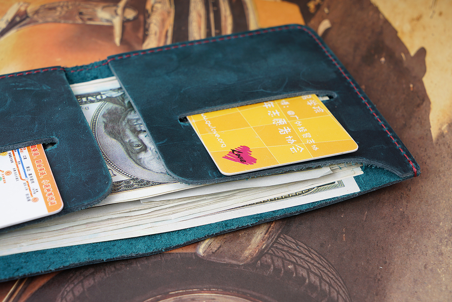 designer mens wallet