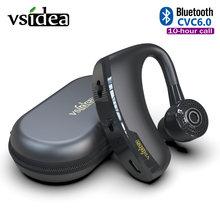 V9 Бизнес Беспроводная bluetooth гарнитура с микрофоном Голосовое
