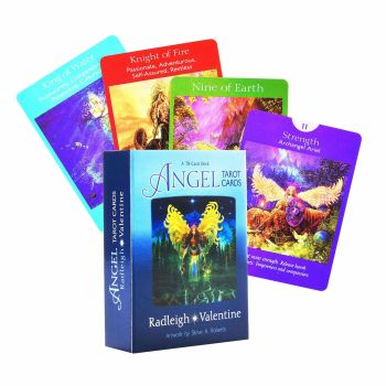 Angel Tarot Cards: A 78-Card Deck provide you with inspiring guidance on your life journey steps of giving an accurate reading