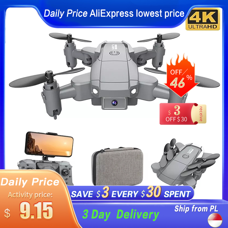 KY905 Mini Drone With 4K Camera HD Foldable Drones Quadcopter One Key...