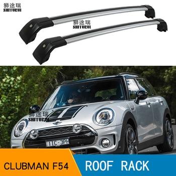 SHITURUI 2Pcs Roof bars For Mini Clubman (F54) [2014-2019] 2015 2016 2018 Aluminum Alloy Side Bars Cross Rails Roof Rack Luggage