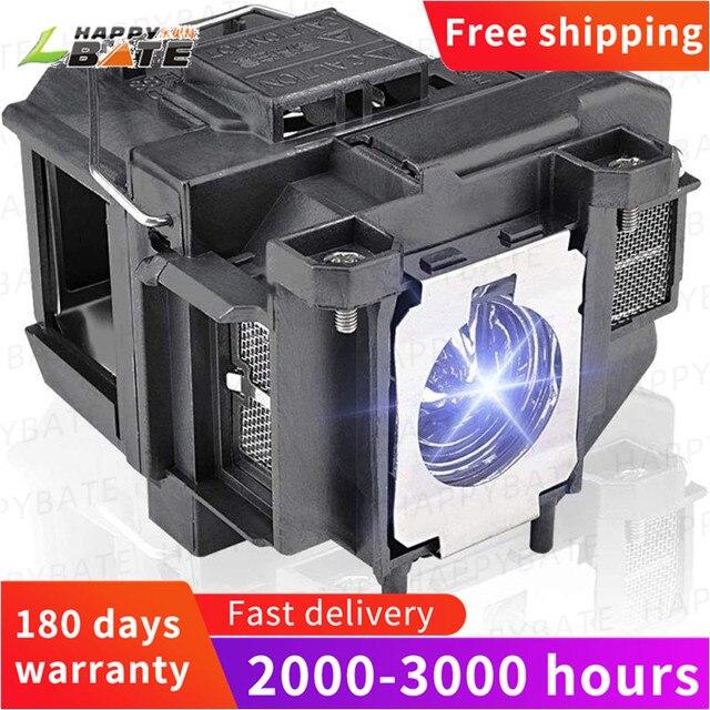HAPPYBATE Ersatz Projektor Lampe Lam ELPLP67 für EX3212 EX5210 EX6210 EX7210 H428A H428B H429A H431A H432A H433A H433B H435B