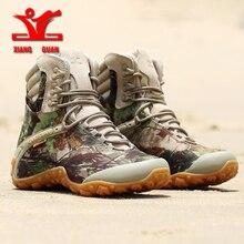 XIANGGUAN New Hiking Snow Boots Camping Tactical Boots Men C