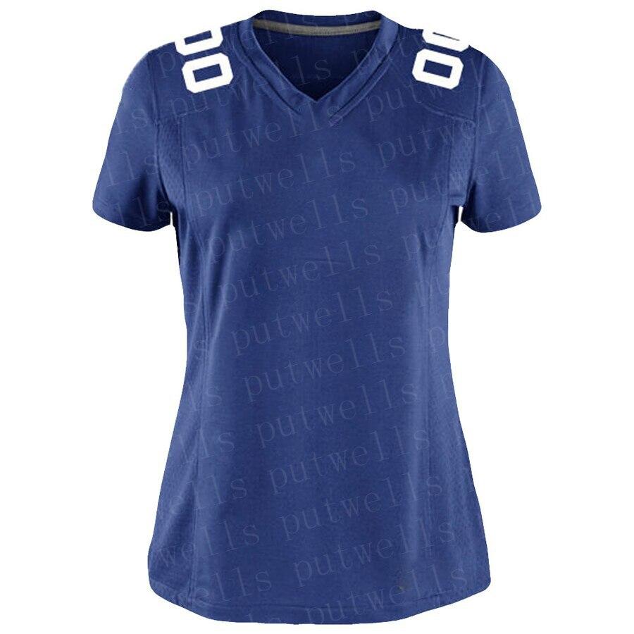 2019 Women Golden American Football New York Sport Fans Wear Saquon Barkley Daniel Jones Odell Beckham Jr Landon Collins Jerseys