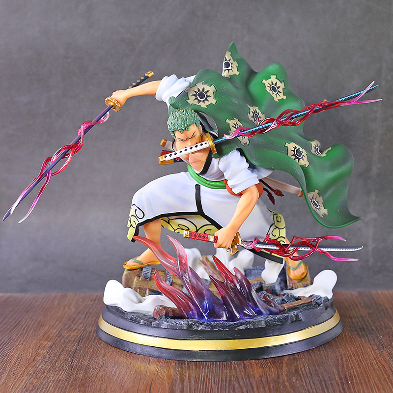 One Piece Roronoa Zoro Three Thousand Worlds Ver. Battle Statue PVC Figure Toy Anime Figurine Model